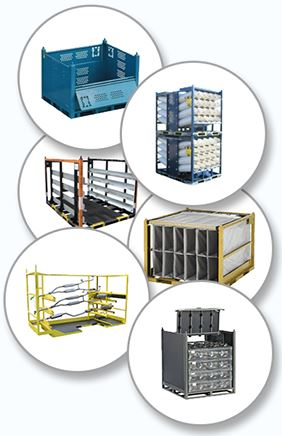 design and sale plastic and metal containers bins